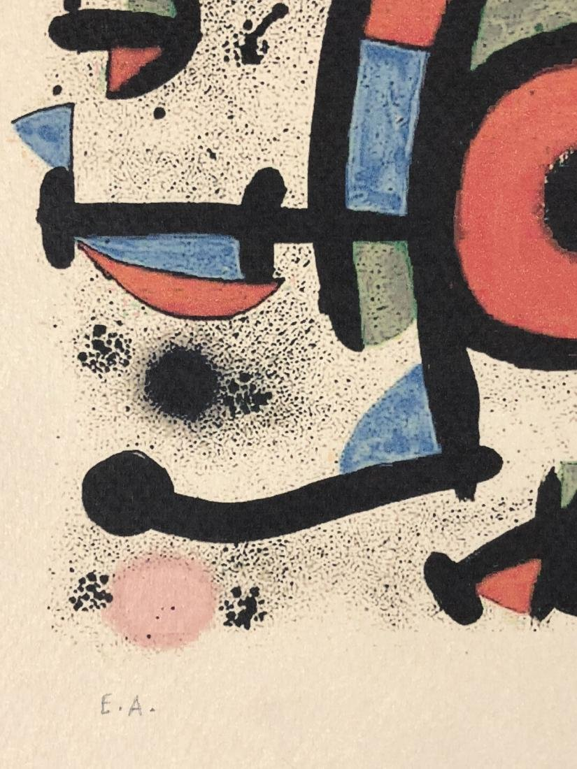 Joan Miro (Spanish, 1893 -1983) -- Hand Signed Fine Art - 3