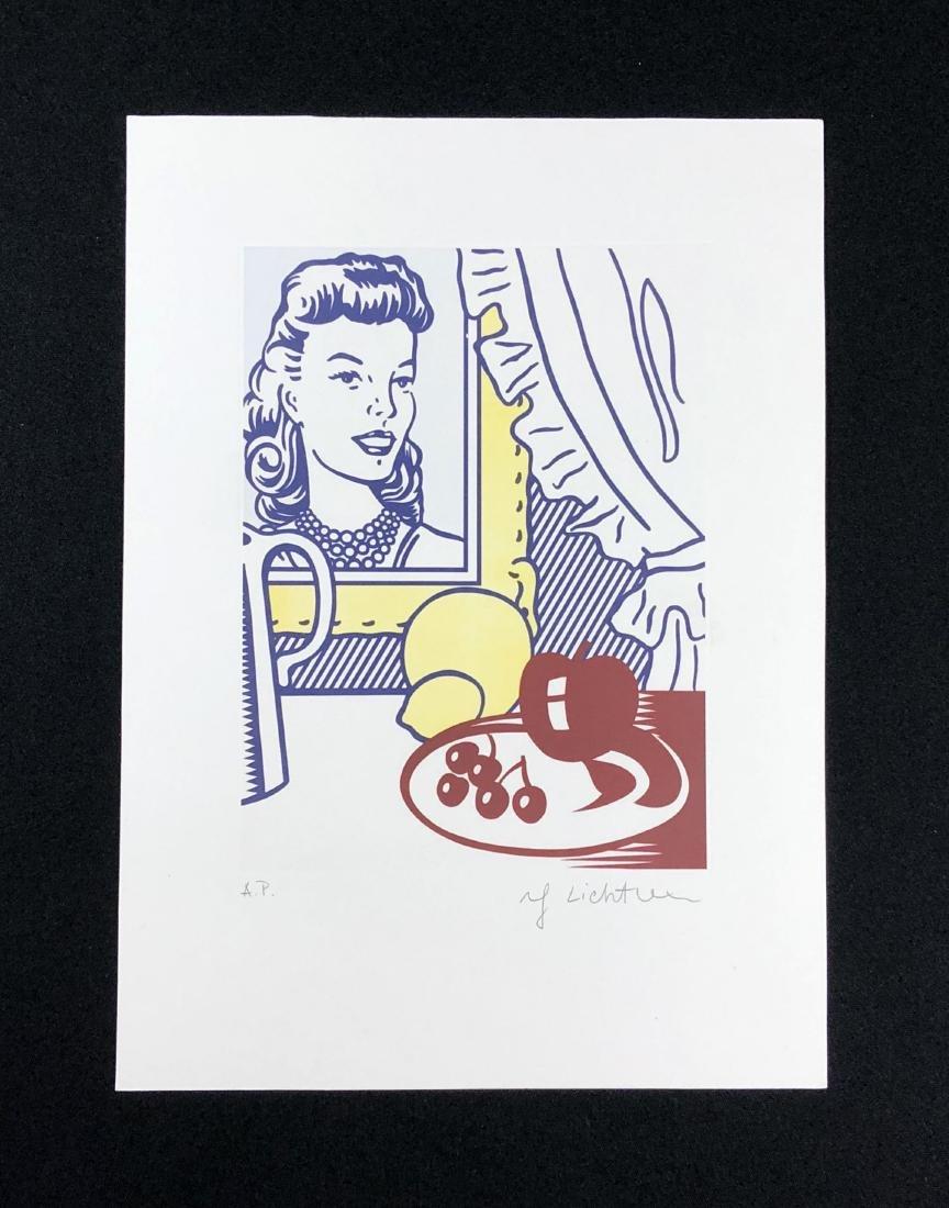 Roy Lichtenstein (American, 1923 -1997) -- Hand Signed