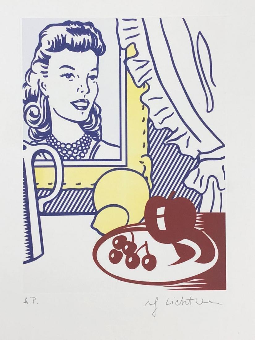 Roy Lichtenstein (American, 1923 -1997) -- Hand Signed - 2