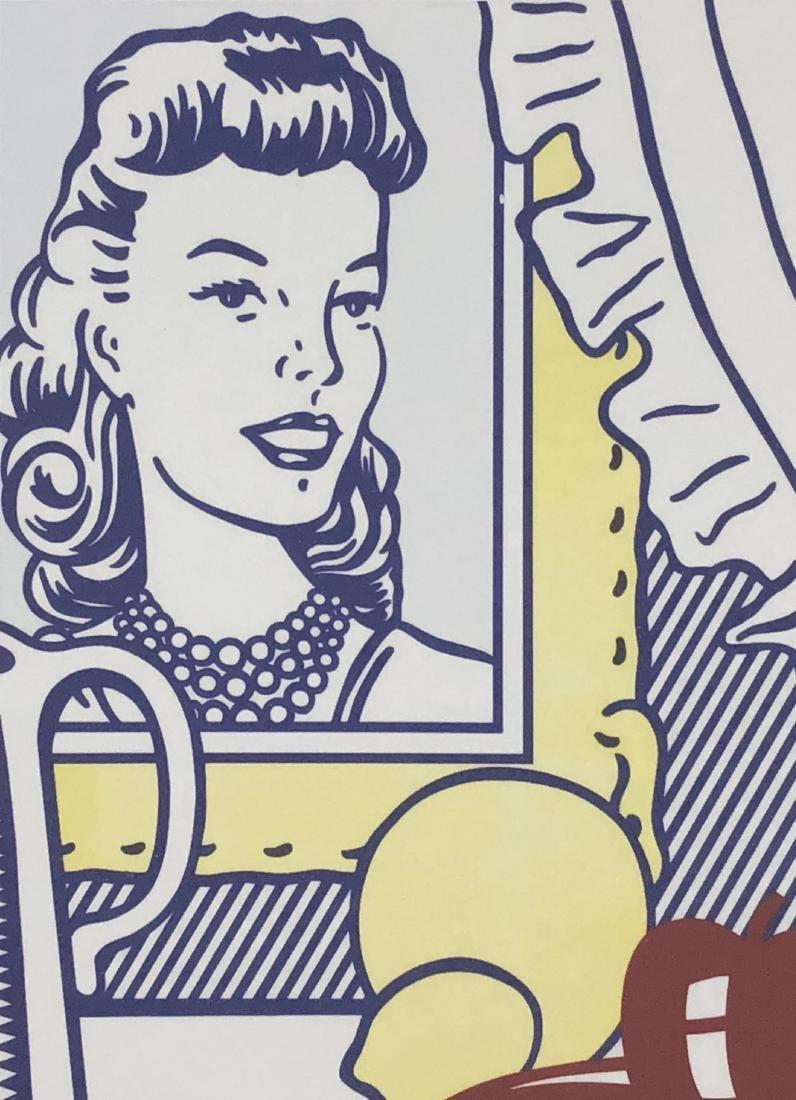 Roy Lichtenstein (American, 1923 -1997) -- Hand Signed - 3