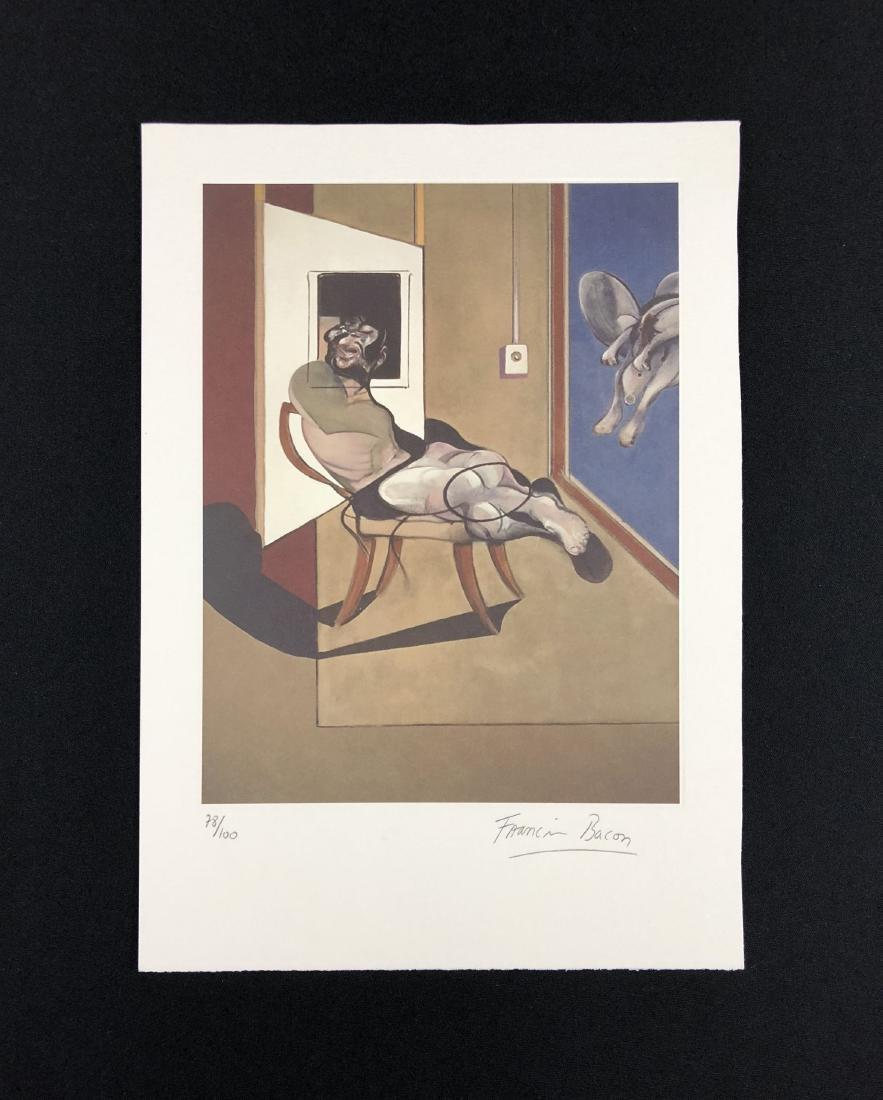 Francis Bacon (British, 1909-1992) -- Hand Signed Fine