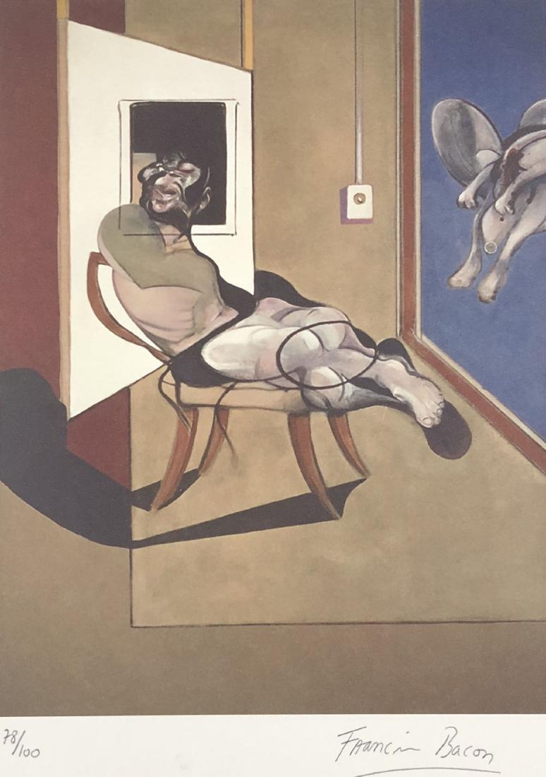 Francis Bacon (British, 1909-1992) -- Hand Signed Fine - 2