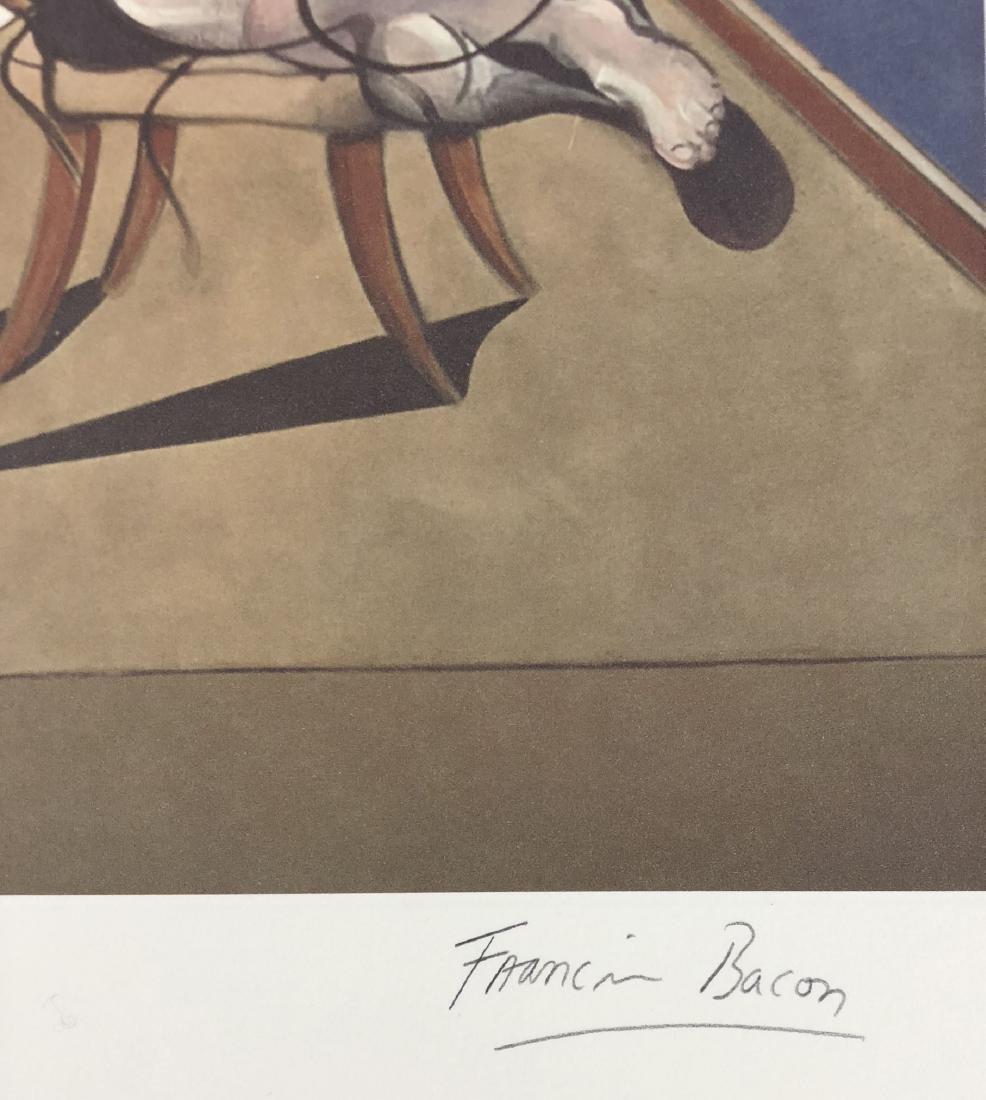 Francis Bacon (British, 1909-1992) -- Hand Signed Fine - 3