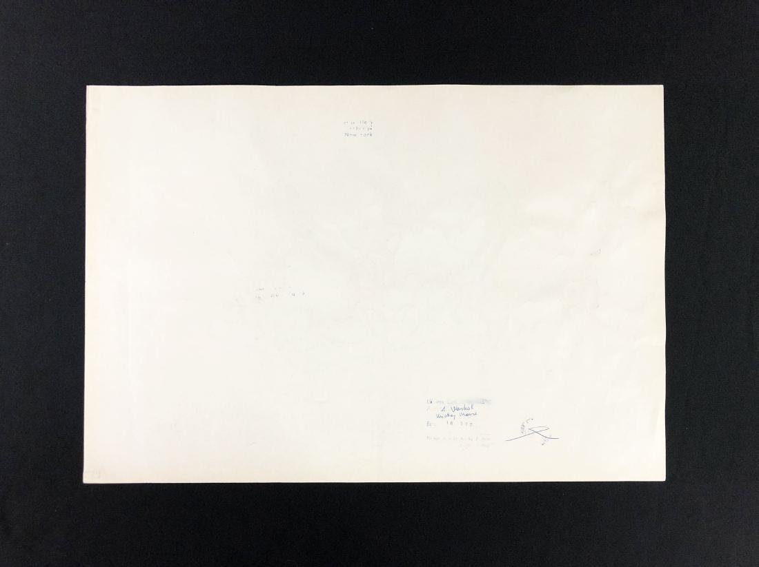 Andy Warhol (American, 1928 -1987) -- Hand Signed Fine - 4