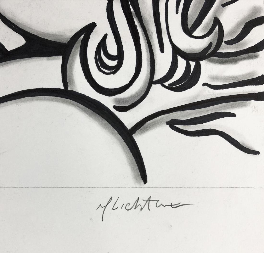 Roy Lichtenstein (American, 1923 - 1997) -- Hand Drawn - 3