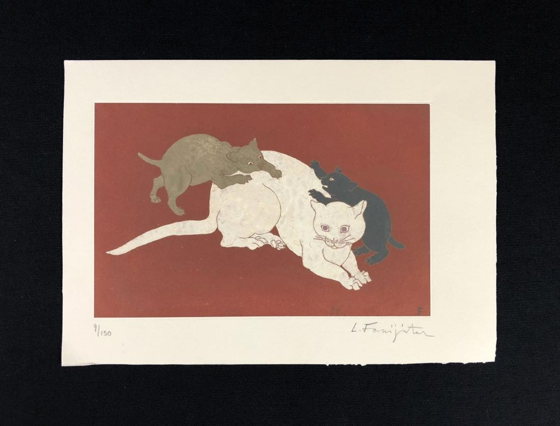 Leonard Tsuguharu Foujita (Japanese, 1886 -1968) --