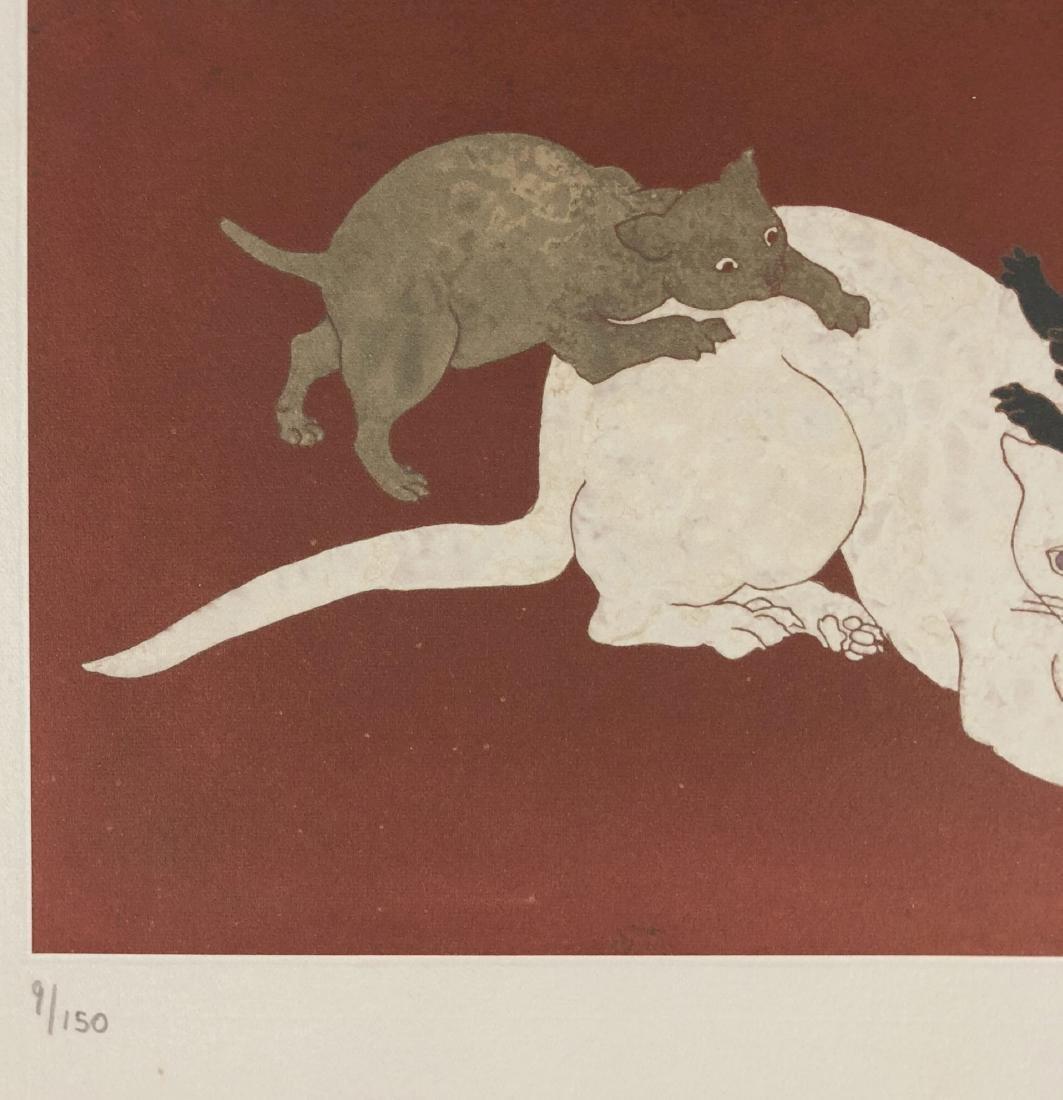 Leonard Tsuguharu Foujita (Japanese, 1886 -1968) -- - 4