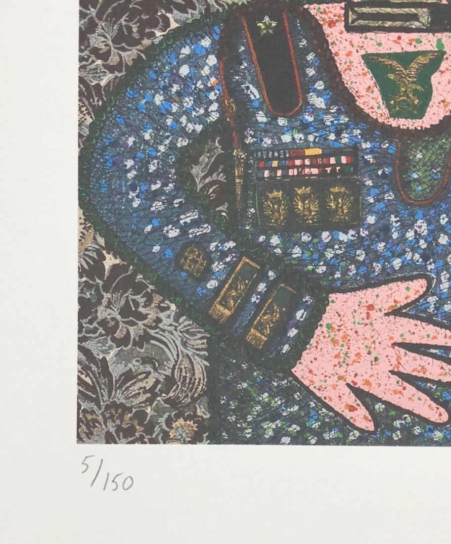 Enrico Baj (Italian, 1924 - 2003) -- Hand Signed Fine - 4