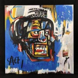 Jean-Michel Basquiat (American, 1960-1988) -- Hand