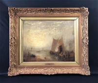 J.M.W. Turner (1775 - 1851) Old Oil Painting - style of