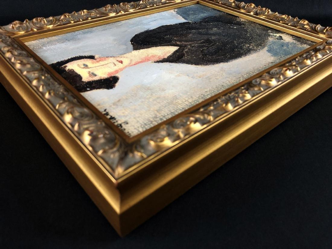 Amedeo Modigliani (1884-1920) Painting w/ COA- style of - 5