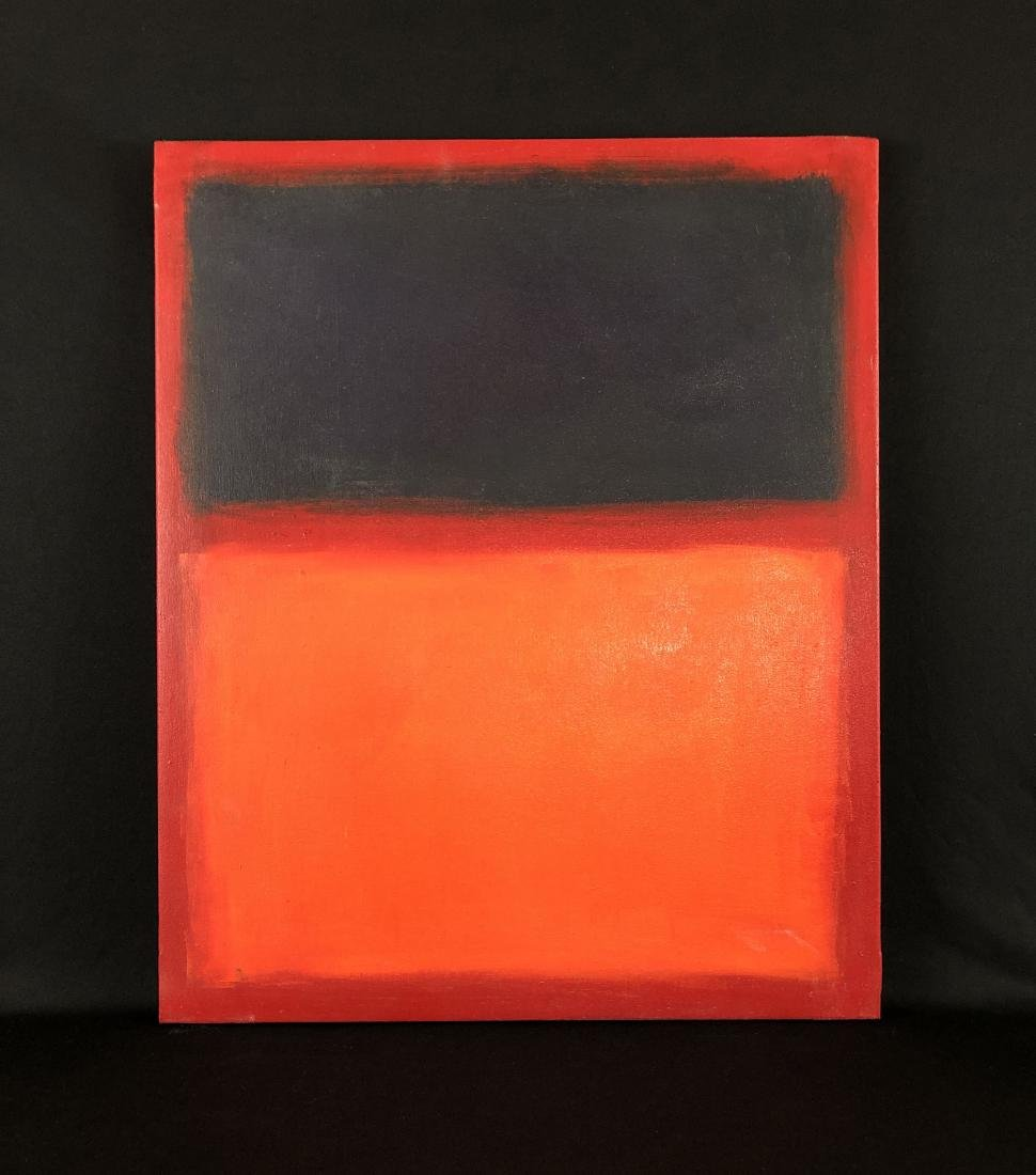 Mark Rothko (USA, 1903 - 1970)- Oil Painting - style of