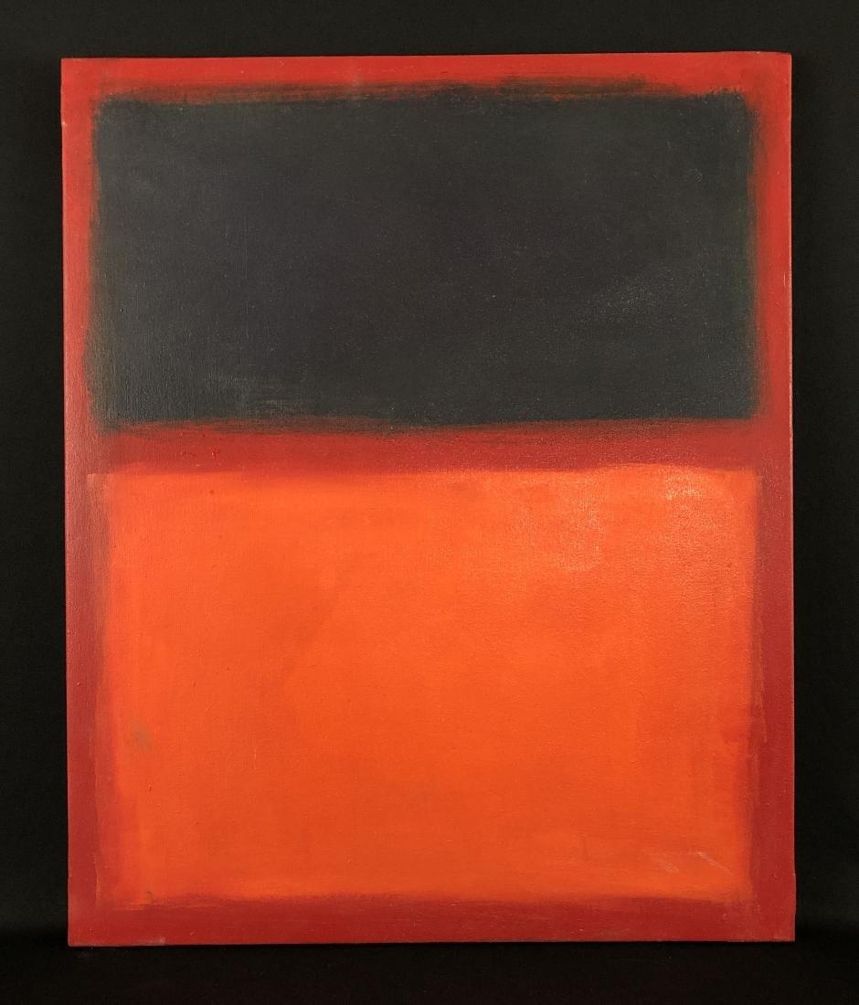Mark Rothko (USA, 1903 - 1970)- Oil Painting - style of - 2