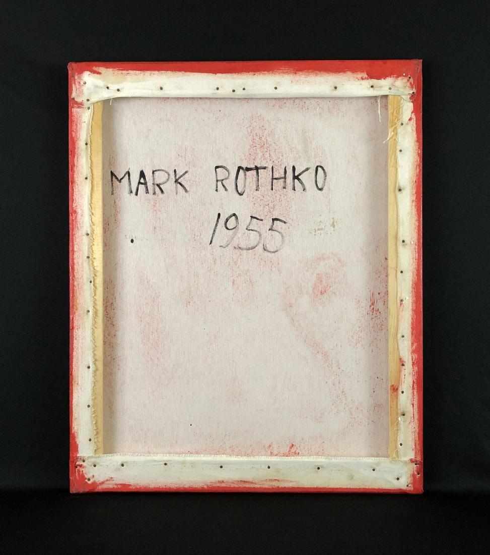 Mark Rothko (USA, 1903 - 1970)- Oil Painting - style of - 5