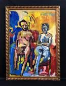 Ernst L. Kirchner (1880-1938) Oil Painting - style of