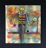 Rufino Tamayo (1899-1991) Mixed Media Drawing -style of