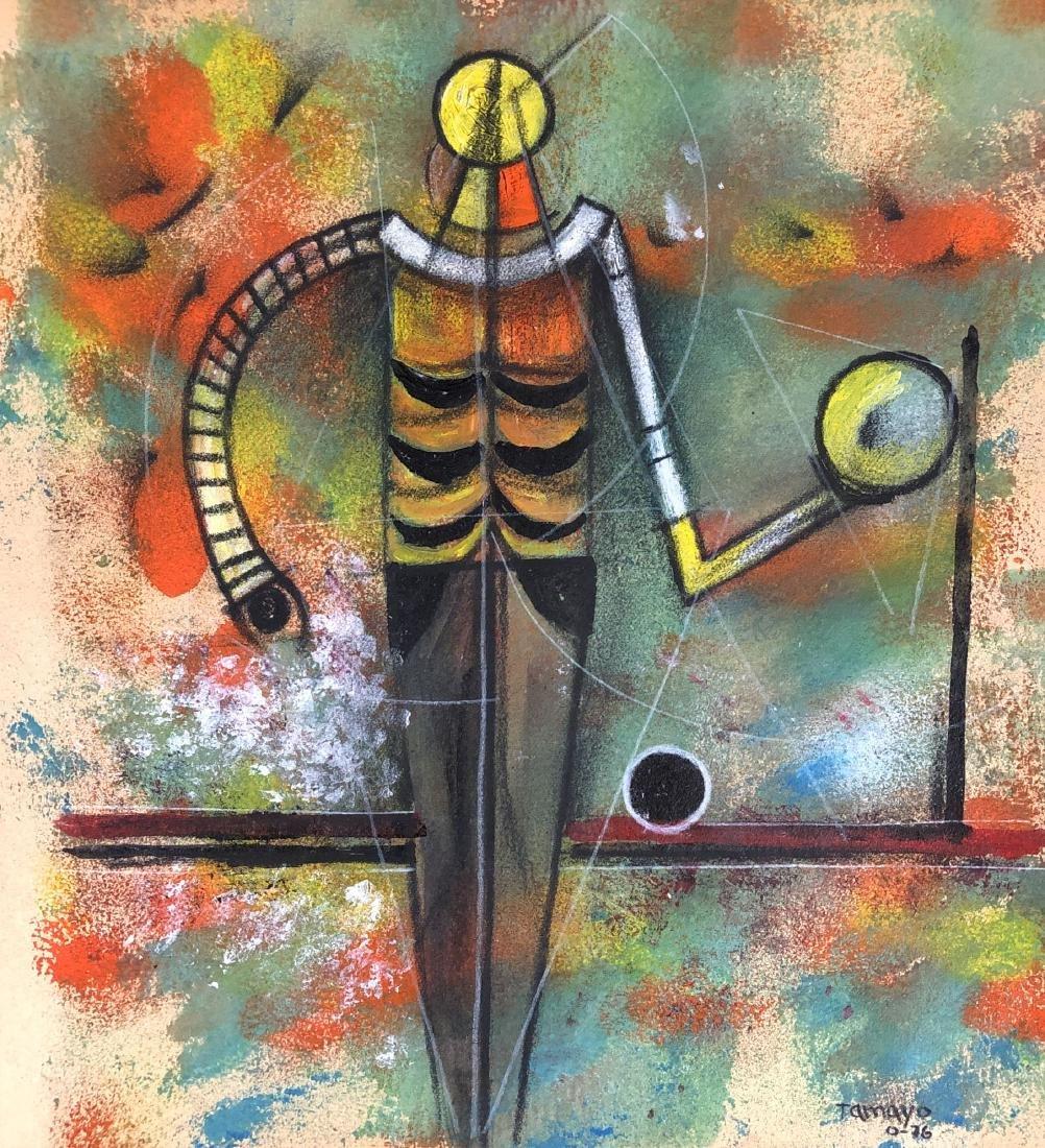 Rufino Tamayo (1899-1991) Mixed Media Drawing -style of - 2