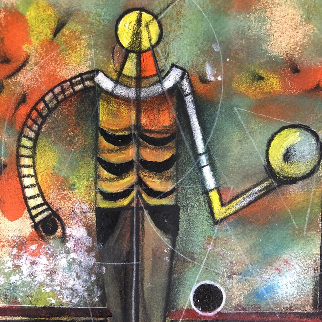 Rufino Tamayo (1899-1991) Mixed Media Drawing -style of - 4