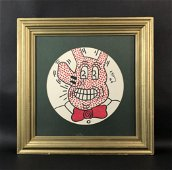 Keith Haring (American,1958 -1990) - Marker Drawing