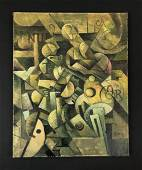 Pablo Picasso (1881 - 1973) - Oil on Canvas