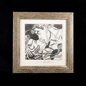 Roy Lichtenstein (1923-1997) -- Graphite Drawing