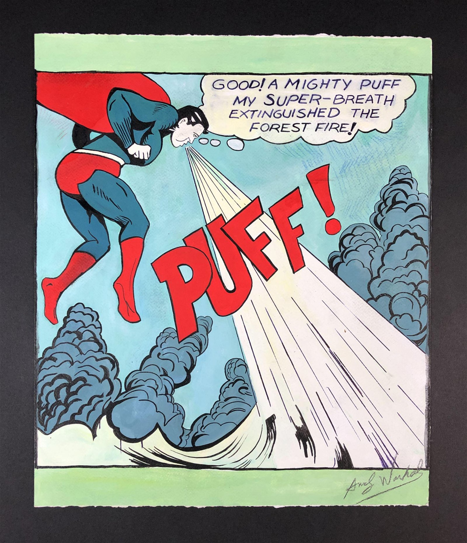 Andy Warhol (1928 - 1987) - Mixed Media Illustration on