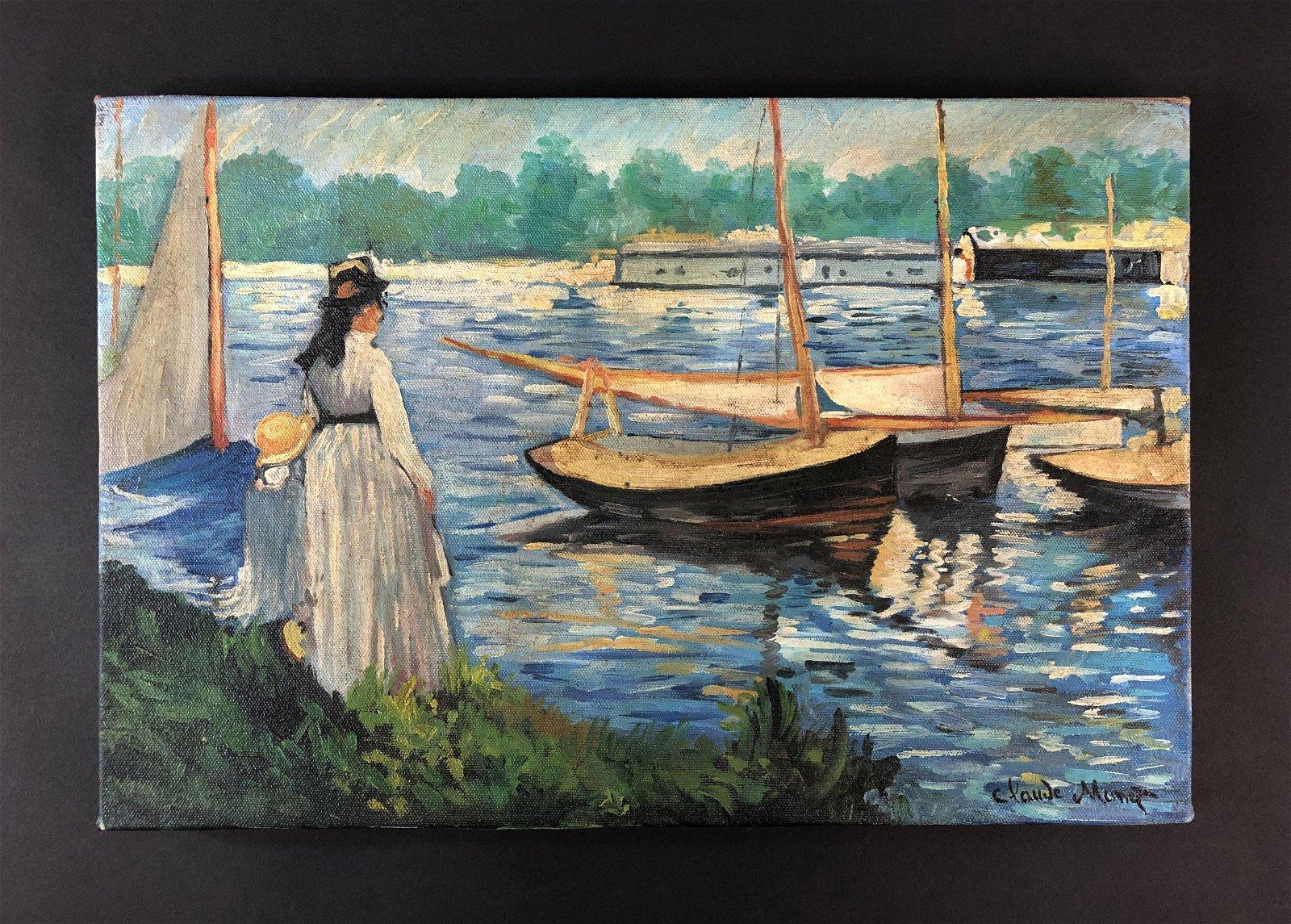 Claude Monet (1840 - 1926) - Oil on Canvas