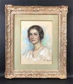 Mary Cassatt (American, 1844-1926) - Pastel Painting