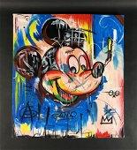 Jean-Michel Basquiat (1960-1988) - Acrylic on Canvas