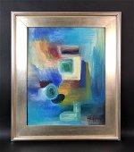 Hans Hofmann (1880 - 1966) -- Acrylic Painting