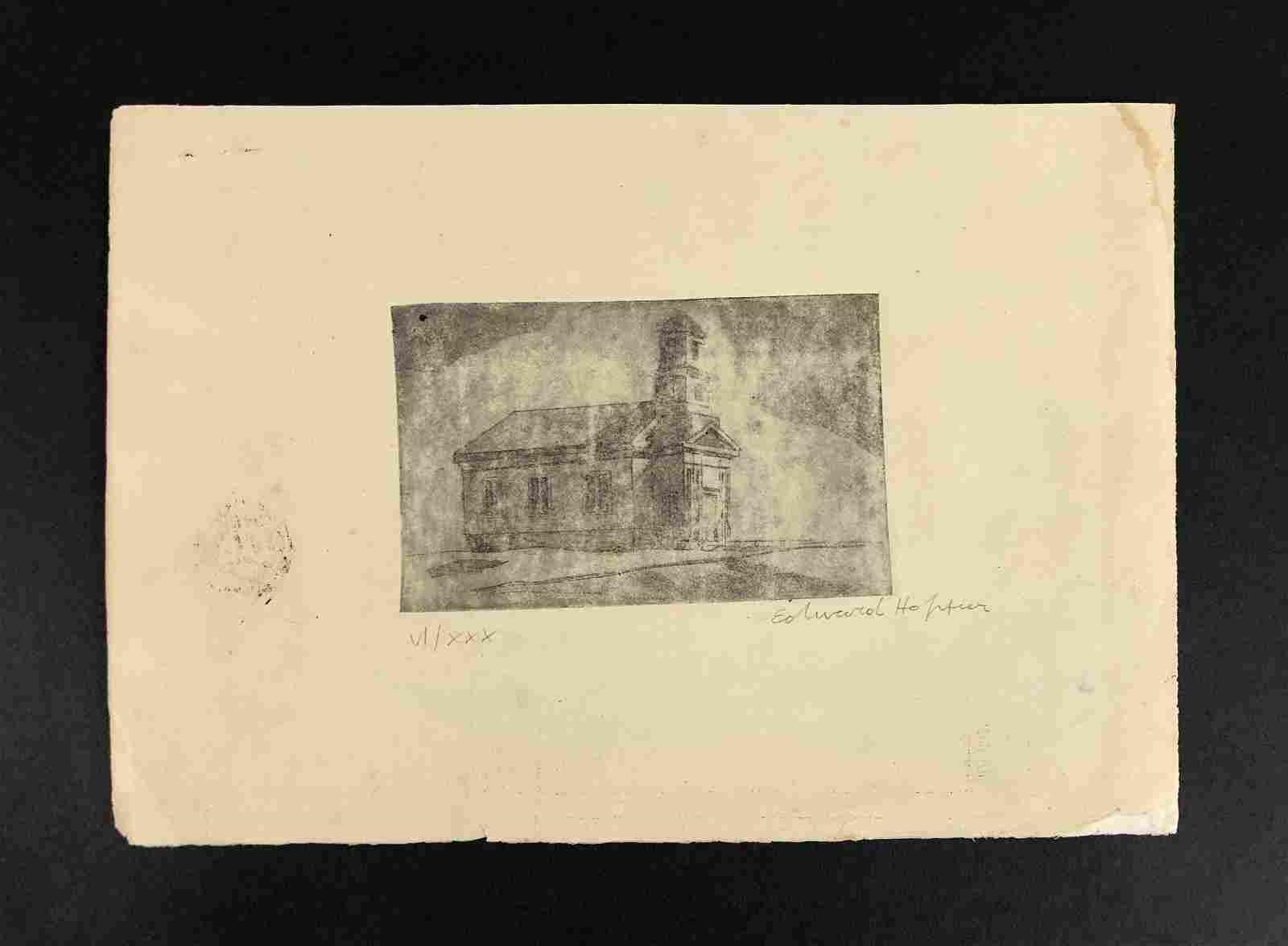 Edward Hopper (American, 1882-1967) - Fine Art Print on