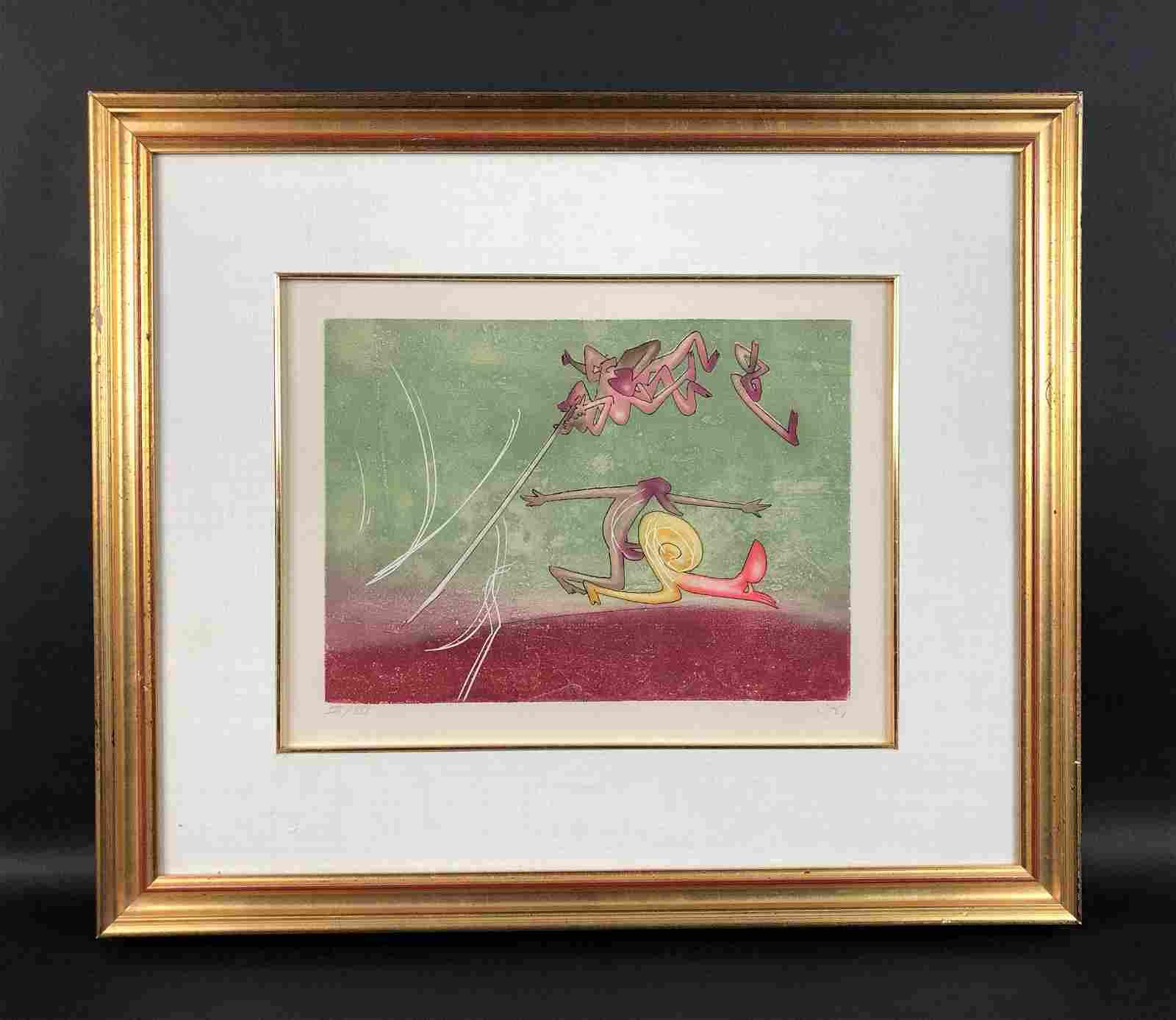 Roberto Matta (Chilean, 1911-2002) - Fine Art Print