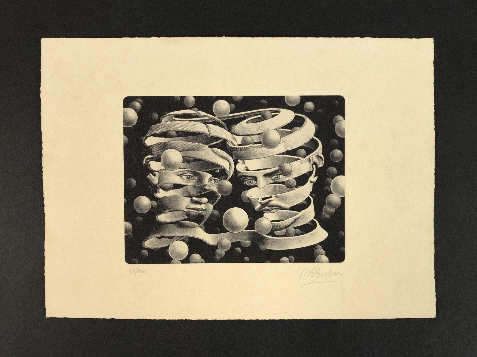 M.C. Escher (Dutch, 1898-1972) - Fine Art Print on