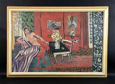 Henri Matisse French 18691954  Oil on Canvas