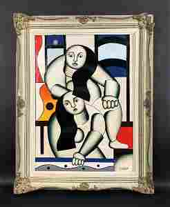 Fernand Leger (French, 1881-1955) - Oil on Canvas