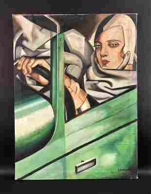 Tamara De Lempicka (Polish, 1898-1980) - Oil on Canvas