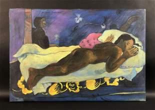 Paul Gauguin (French, 1848-1903) - Oil on Canvas