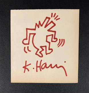 Keith Haring (American,1958 -1990) - Ink on Paper