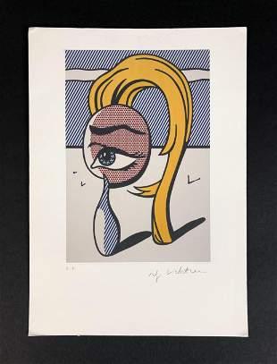 Roy Lichtenstein (American, 1923-1997) - Fine Art Print