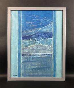 Whanki Kim - Oil on Canvas (style of)