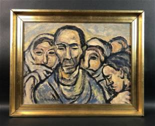 Georges Rouault - Oil on Canvas (style of)