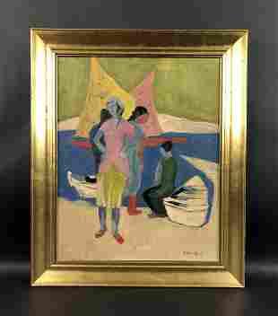 Milton Avery - Oil on Canvas (style of)