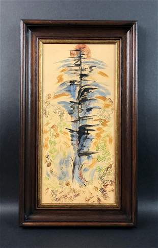 Charles E. Burchfield - Watercolor (style of)