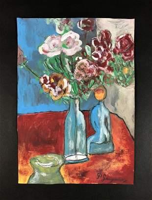Paul Gauguin - Gouache on Paper (style of)