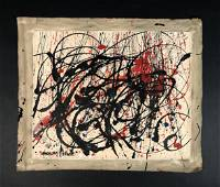 Jackson Pollock (1912-1956) style of - Acrylic Painting