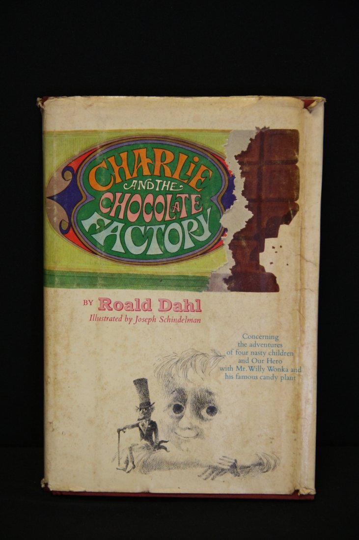 Charlie and the Chocolate Factory by Roald Dahl, 1st Ed