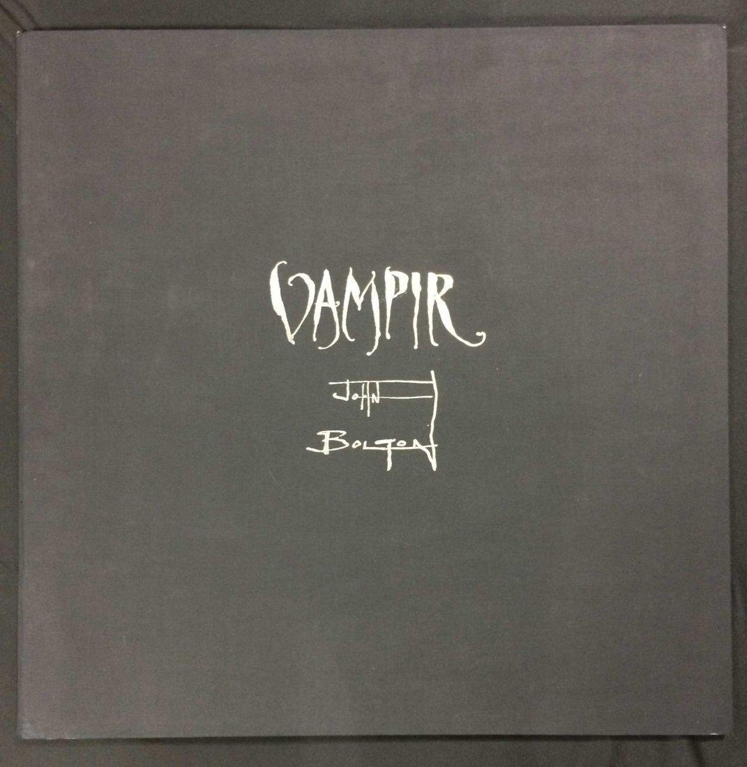 John Bolton -- SIGNED Hardcover Vampire Print Portfolio
