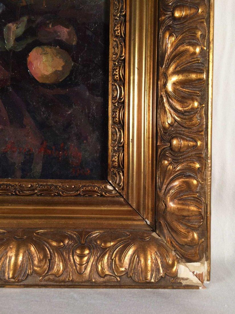 "Original Oil on Canvas Signed ""Boris Anisfeld"" - 3"