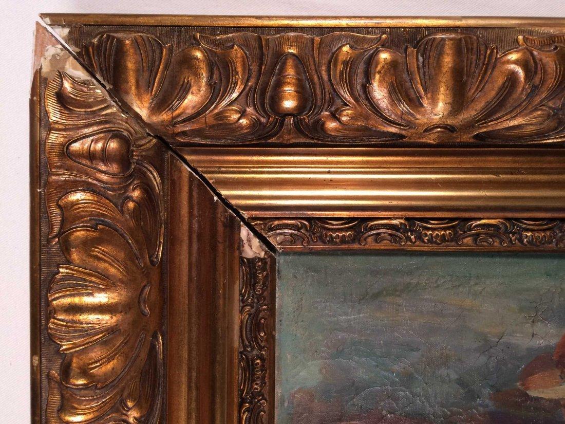 "Original Oil on Canvas Signed ""Boris Anisfeld"" - 4"
