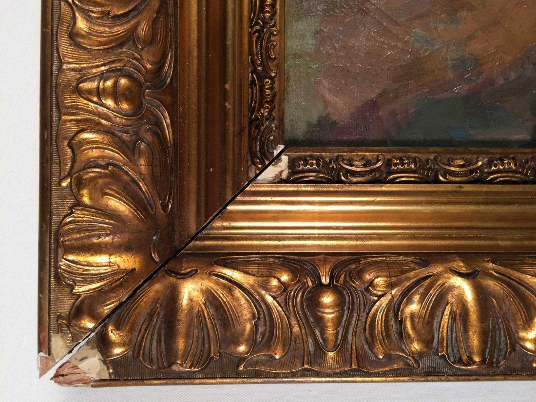 "Original Oil on Canvas Signed ""Boris Anisfeld"" - 5"